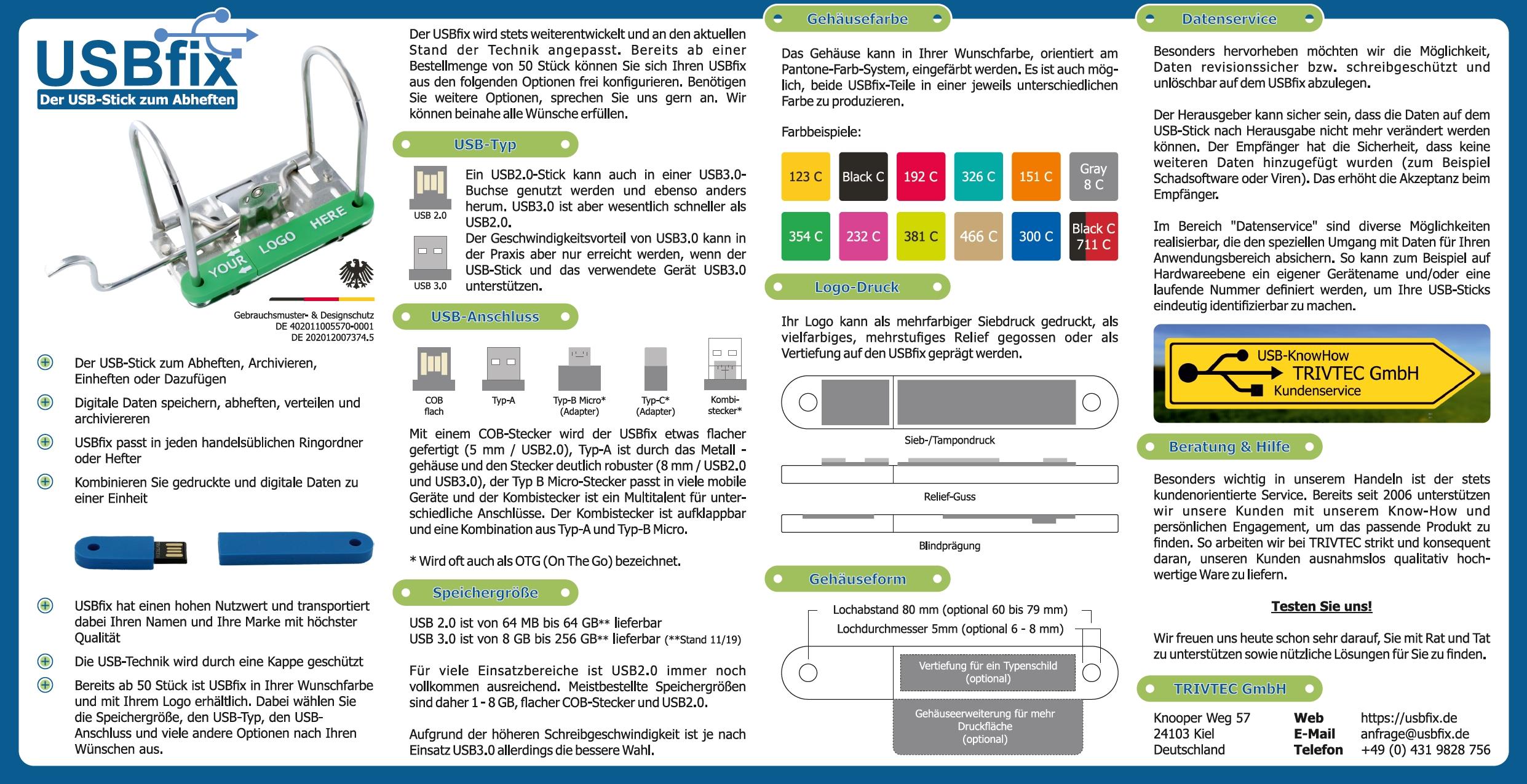 USBfix Infoposter zum Download